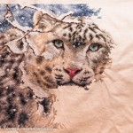 An Update on the Snow Leopard Cross-stitch